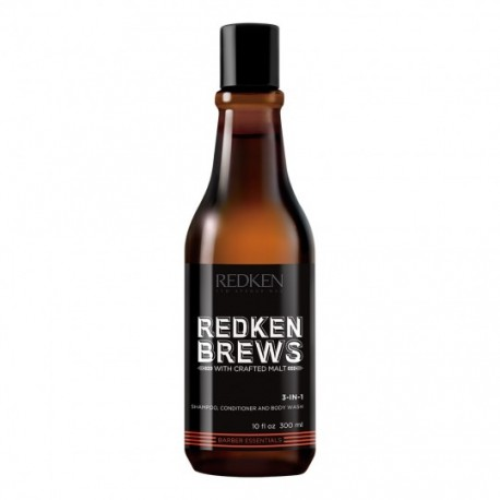 CHAMPÚ MINT REDKEN BREWS 300ML