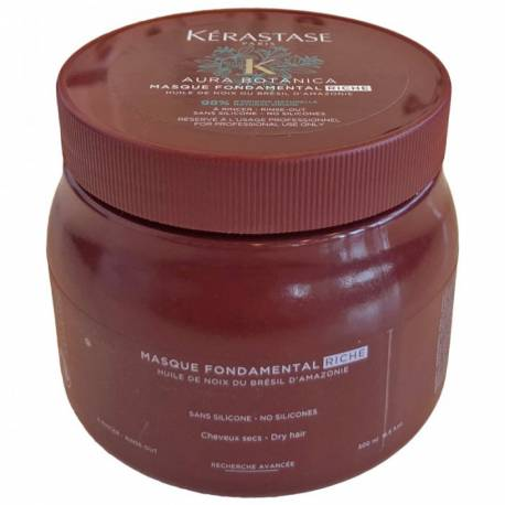 KERASTASE AURA BOTÁNICA MASQUE FONDAMENTAL RICHE 200 ML.