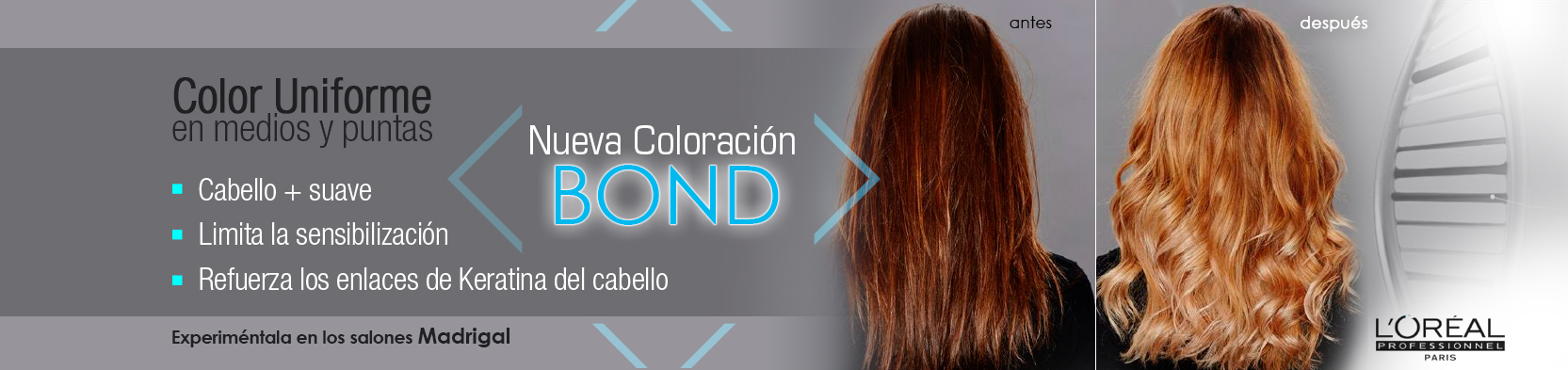 Coloración BOND